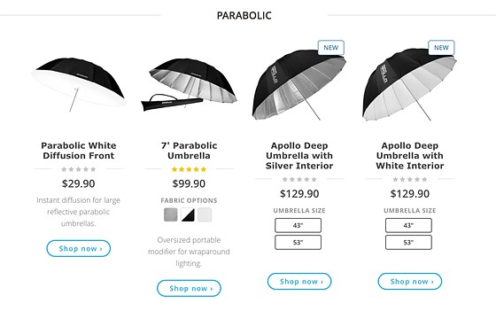 Which Softbox Octabox Strip Box Umbrellas Beauty Dish