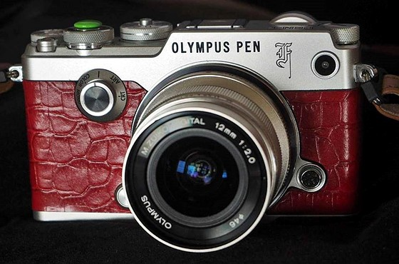 Olympus Pen F Special Edition announced today: Open Talk