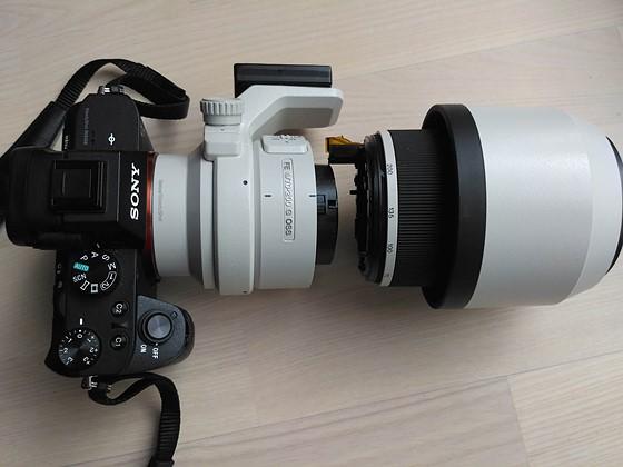 Broken Sony Fe 70 200mm F4 After Drop Sony Alpha Full