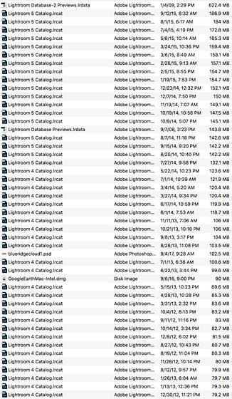 Can i delete old lightroom catalogs