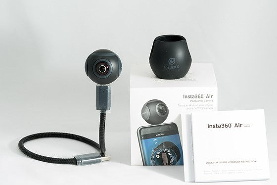 Insta360 Air 360 Camera for Android Micro-USB Like New in