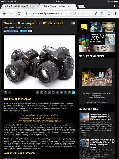 Dpreview Nikon Forum