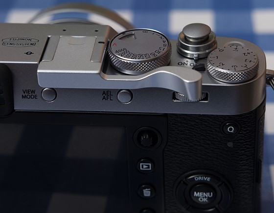 I can recommend this thumb grip for the X100F: Fujifilm X System