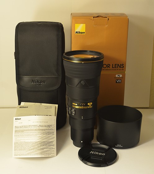 Equipment sale! Nikon 500mm f/5 6E PF! 200mm f/2G, D5100