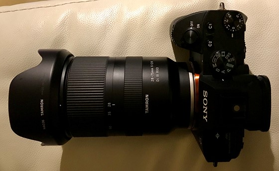 What S The Best Small Bag That Fits A Sony A7iii With Tamron 28 75mm Sony Alpha Full Frame E Mount Talk Forum Digital Photography Review