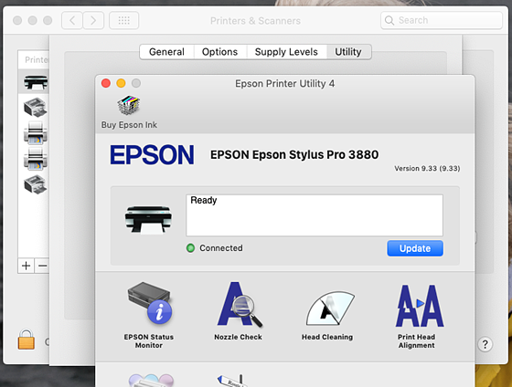 Mac shows printer offline - but it isn't: Printers and