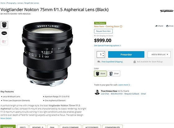 Anyone open to this new lens? 75mm f1 5 <$1000: Fujifilm X