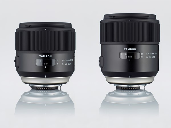 Tamron relaunches SP series with 35mm F1.8 Di VC USD and SP 45mm F1 ...