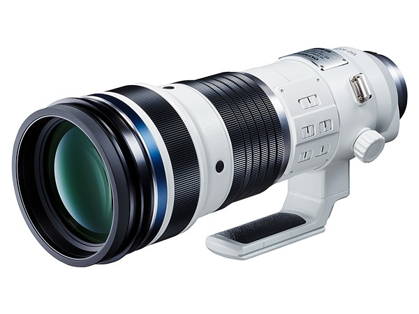 109 Olympus developing 150-400mm F4.5 Pro lens with built-in 1.25X teleconverter