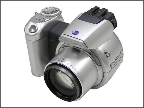konica minolta introduces high performance 4 megapixel digital camera - Minolta Digital Camera