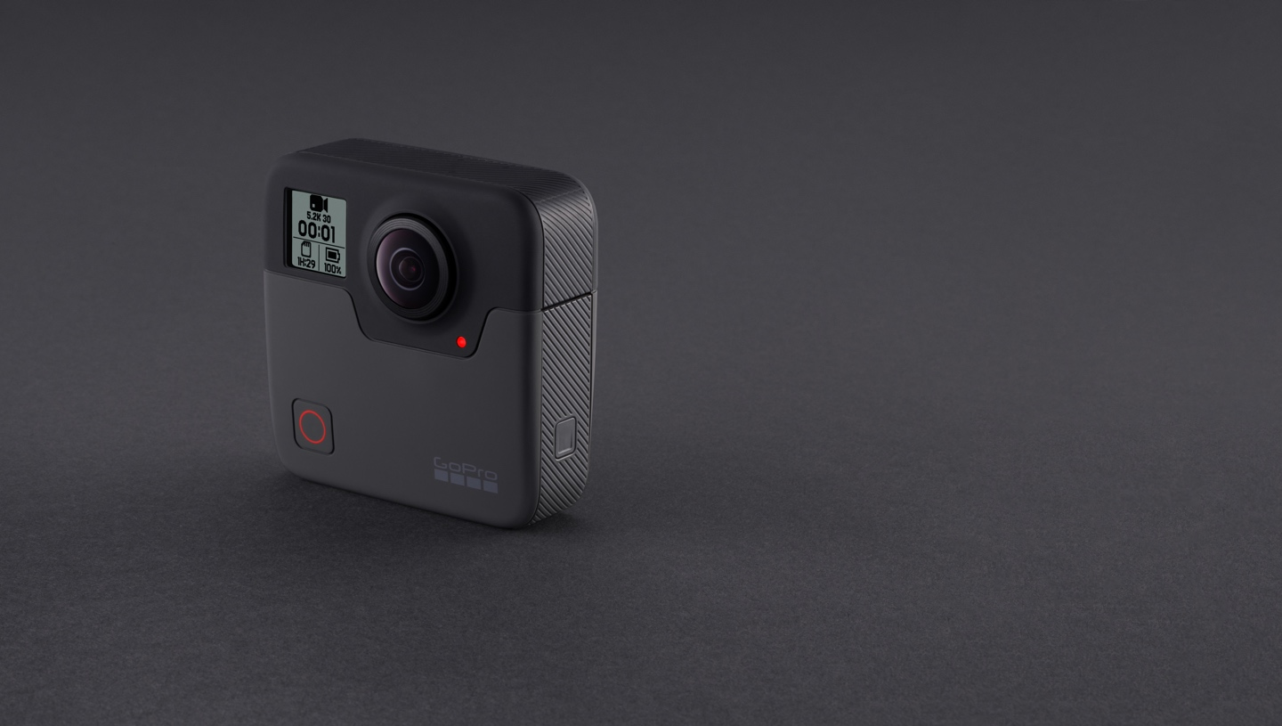 GoPro's 5 2K 360-degree Fusion camera officially launched