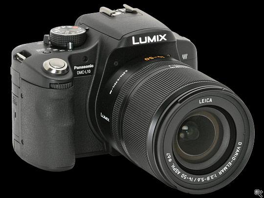 Compact LCD Mult-Function Flash for Panasonic Lumix DMC-L10 TTL, M, Multi