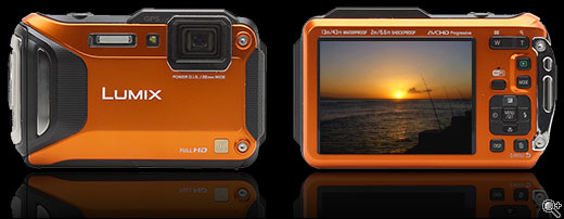 Waterproof digital Cameras :The Panasonic Lumix FT-5