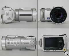Sony DSC-F505 All Round View (click for larger image)