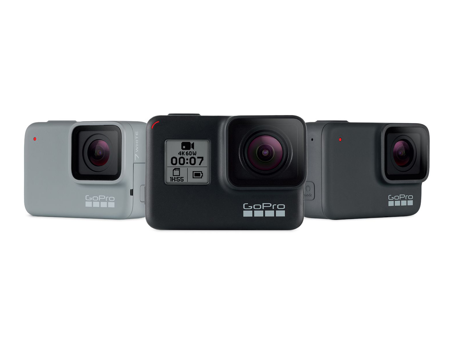 Gopro Launches New Hero7 Black Silver And White Models With Hypersmooth Stabilization Digital Photography Review