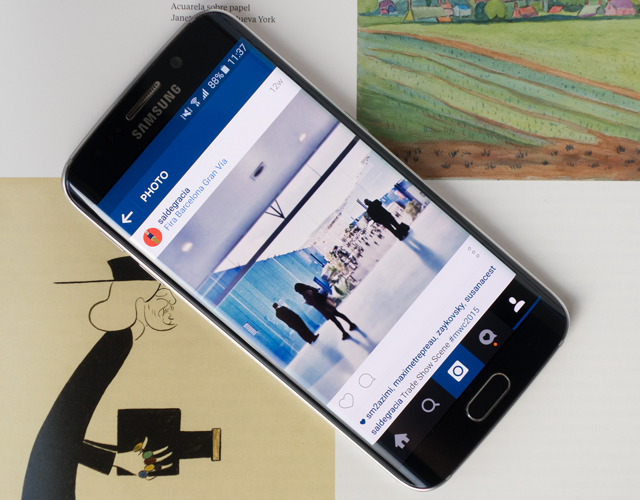 Samsung Galaxy S6 S6 Edge Camera Review Digital Photography Review