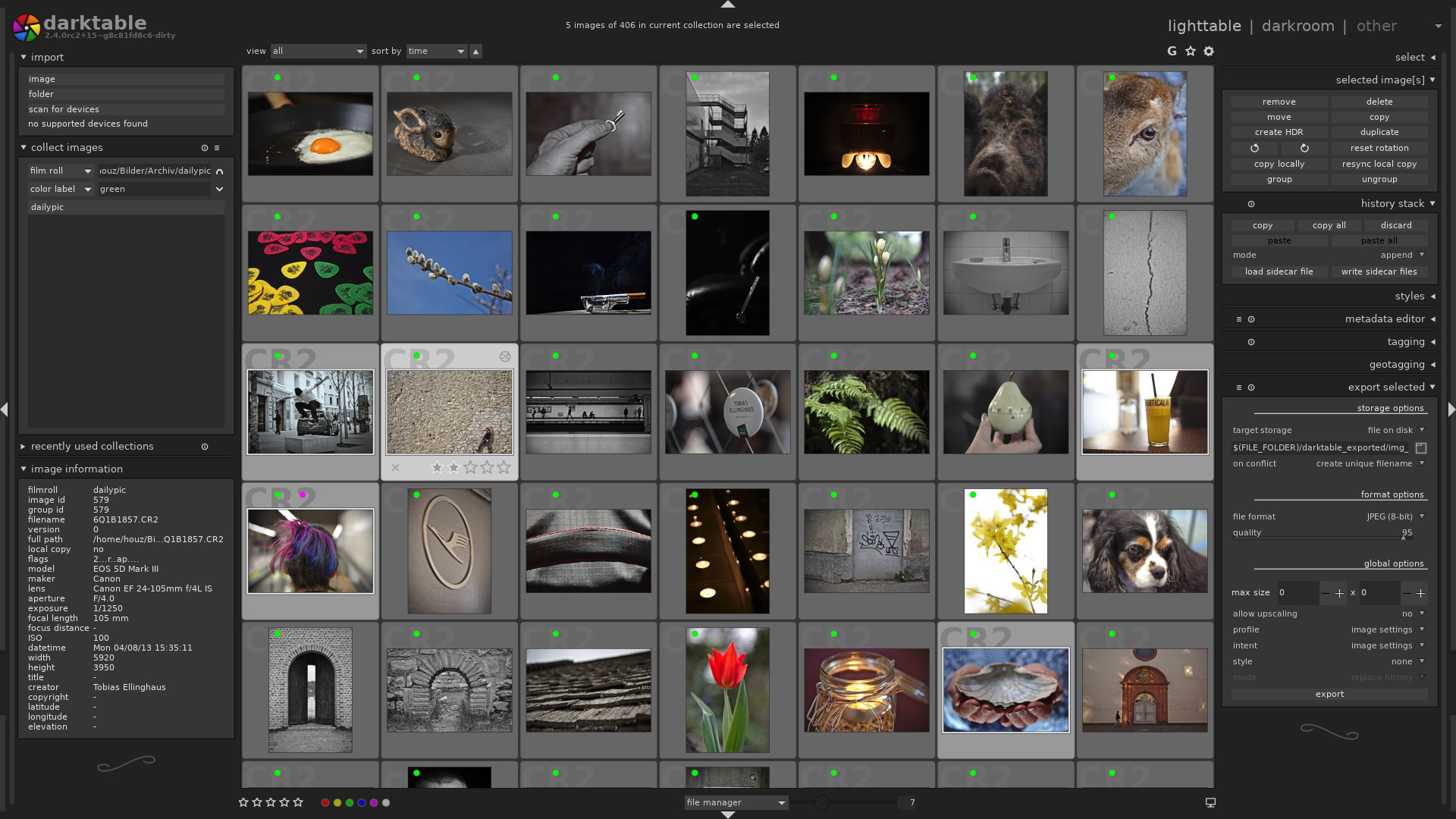 Free Lightroom alternative Darktable is now available on