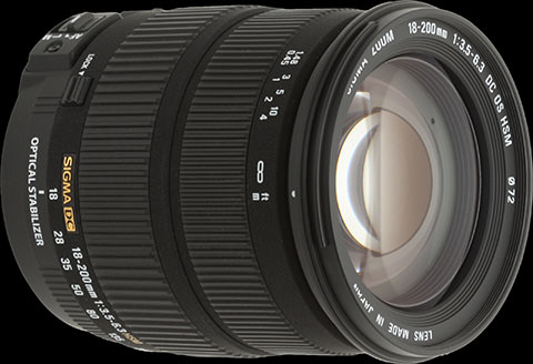 Sigma AF 18-200mm f/3.5-6.3 DC OS (Canon) - Review / Test Report