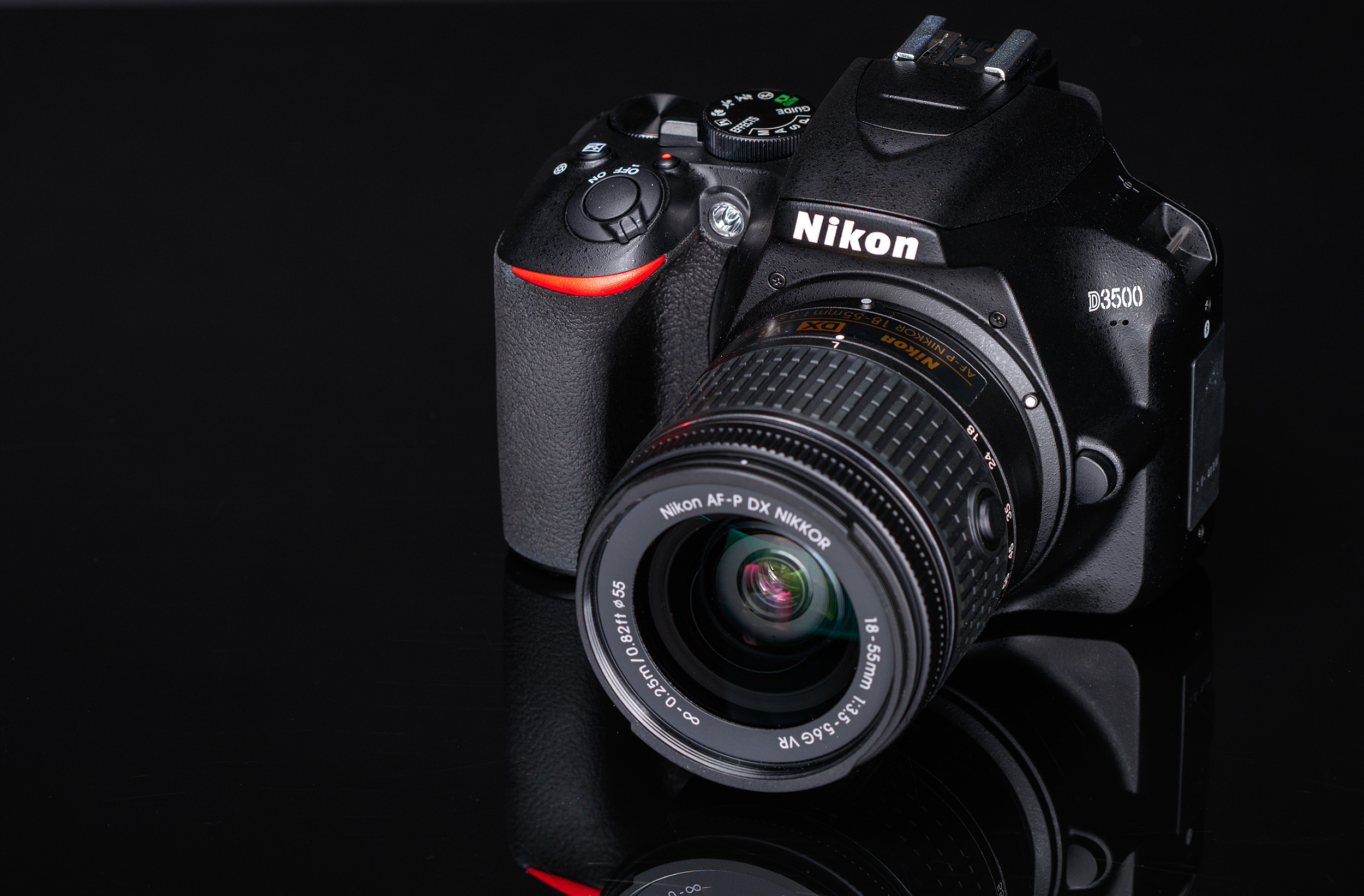 Nikon D3500 gets smaller and cheaper, battery life gets a