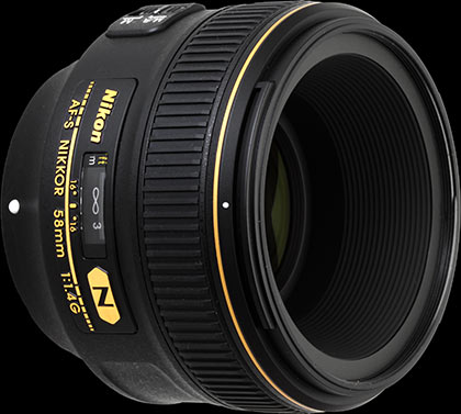 Nikon AF-S Nikkor 58mm f/1 4G review: Digital Photography Review