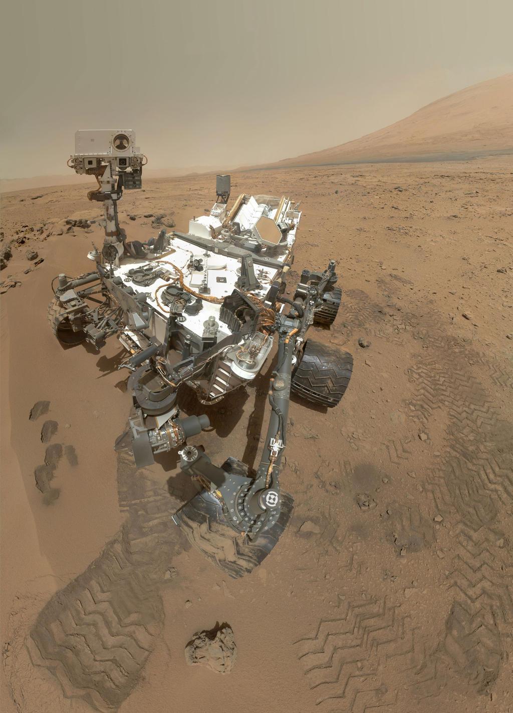 Curiosity rover takes high-resolution self-portrait on Mars