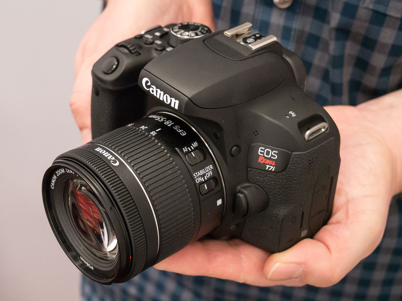 Hands On With The Canon Eos Rebel T7i Eos 800d Digital