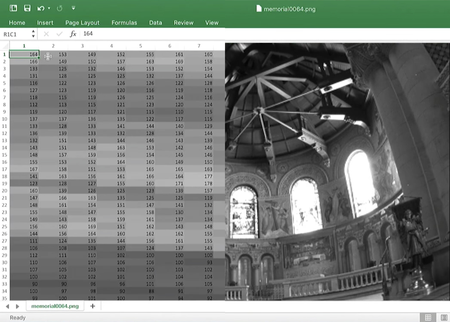 Video: How to make an HDR image using Microsoft Excel
