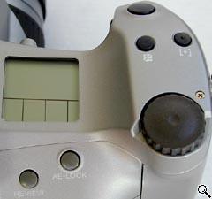 Top of camera controls