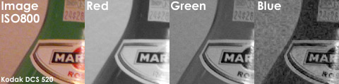 Kodak DCS 520 @ ISO 800