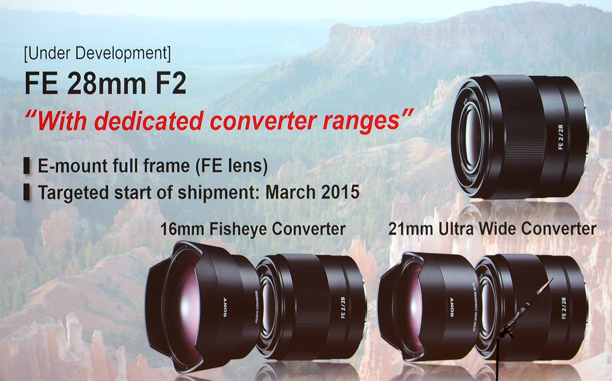 sony shows off upcoming full frame lenses at photokina digital photography review