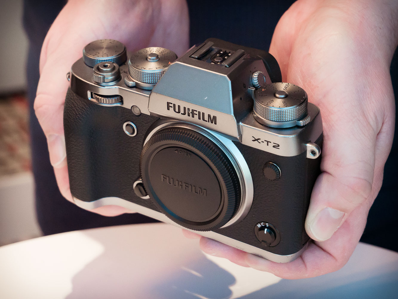 Fujifilm Mirrorless X T2 Body Only Intax Share Sp2 Silver Daftar Xf 56mm F12 Hands On With New Graphite And Pro2