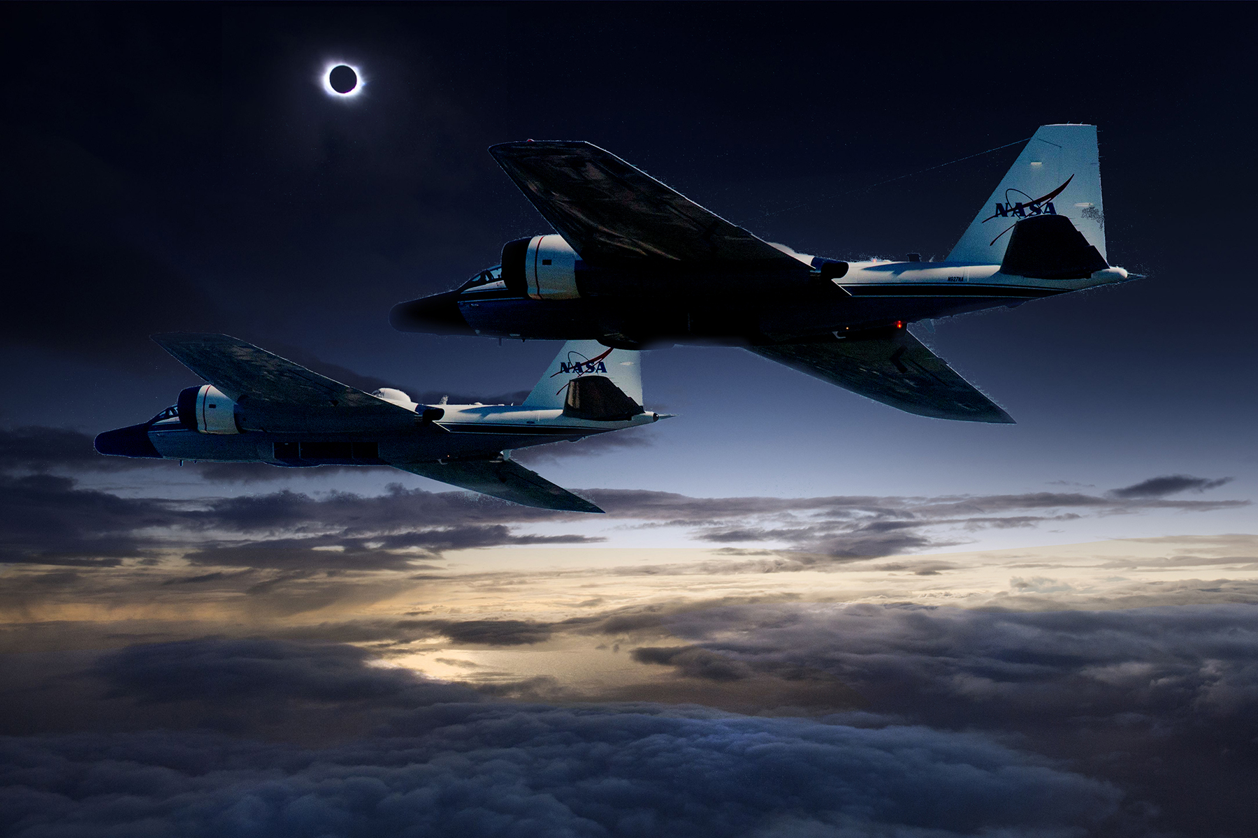 NASA Will Chase The August Eclipse In Jets To Capture Clearest - Examples future planes look according nasa