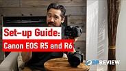 如何设置你的佳能EOS R5和R6 -最佳菜单设置gydF4y2Ba
