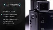Sony Cyber-shot DSC-RX100 III Product Overview