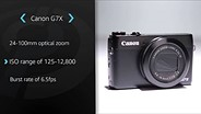 Canon PowerShot G7 X Product Overview