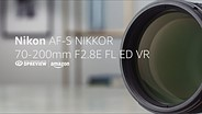Nikon AF-S 70-200mm F2.8E VR Product Overview
