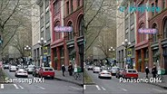 Samsung NX1 vs Panasonic GH4
