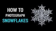 How to Photograph Snowflakes –Snowflake photography with Don Komarechka