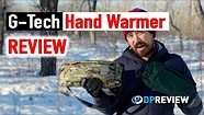 The G-Tech heated pouch can keep you—and your batteries—warm in winter conditions
