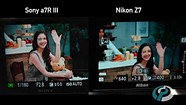 Nikon Z7 Eye Detection AF compared to Sony a7R III