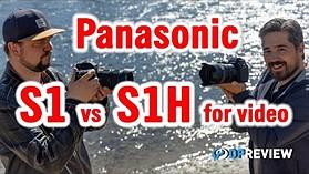 Panasonic S1 vs S1H for video (2021 Firmware)
