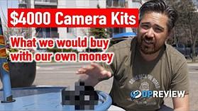 $ 4000相机套件 - 我们选择哪些相机和镜头?