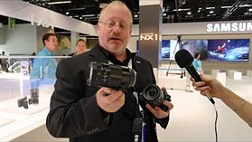 Photokina 2014 Video: Samsung NX1 and Lenses