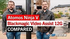 Atomos Ninja V vs. Blackmagic Video Assist 12G – What's the best off-camera recorder?