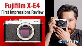 Fujifilm X-E4 First Impressions Review (and a tour of Chris's basement)