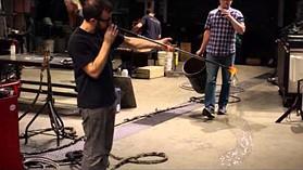 Sony NEX-6 glass blowing sample video