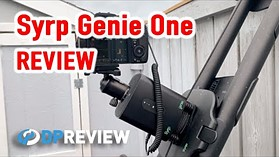 Syrp Genie One motion control pan head/linear drive REVIEW