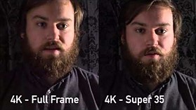 Sony a7R II 4K Low Light Video Test (FF vs Super 35 Crop) by DPReview.com