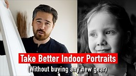 Take better indoor portraits with natural light (without buying any new gear)