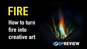 How to create art from FIRE